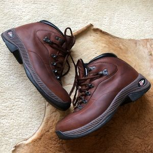 Justin Women's Leather Lace Up Hiking Boots 8 M